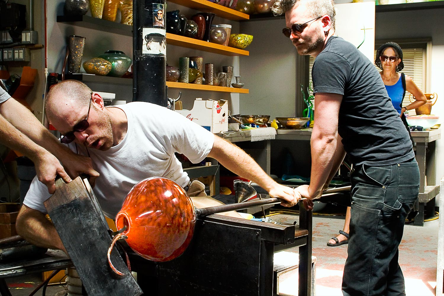 Glass Blowing – Seattle, Washington