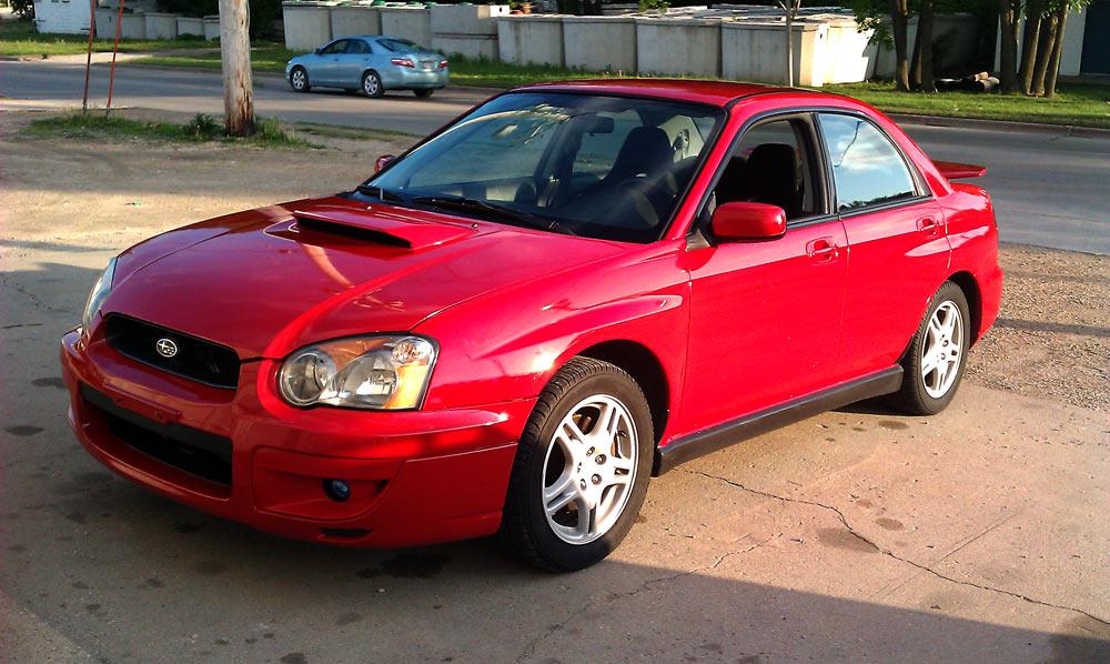 2004 Subaru Impreza WRX   Purdy Clevur Photography & Design